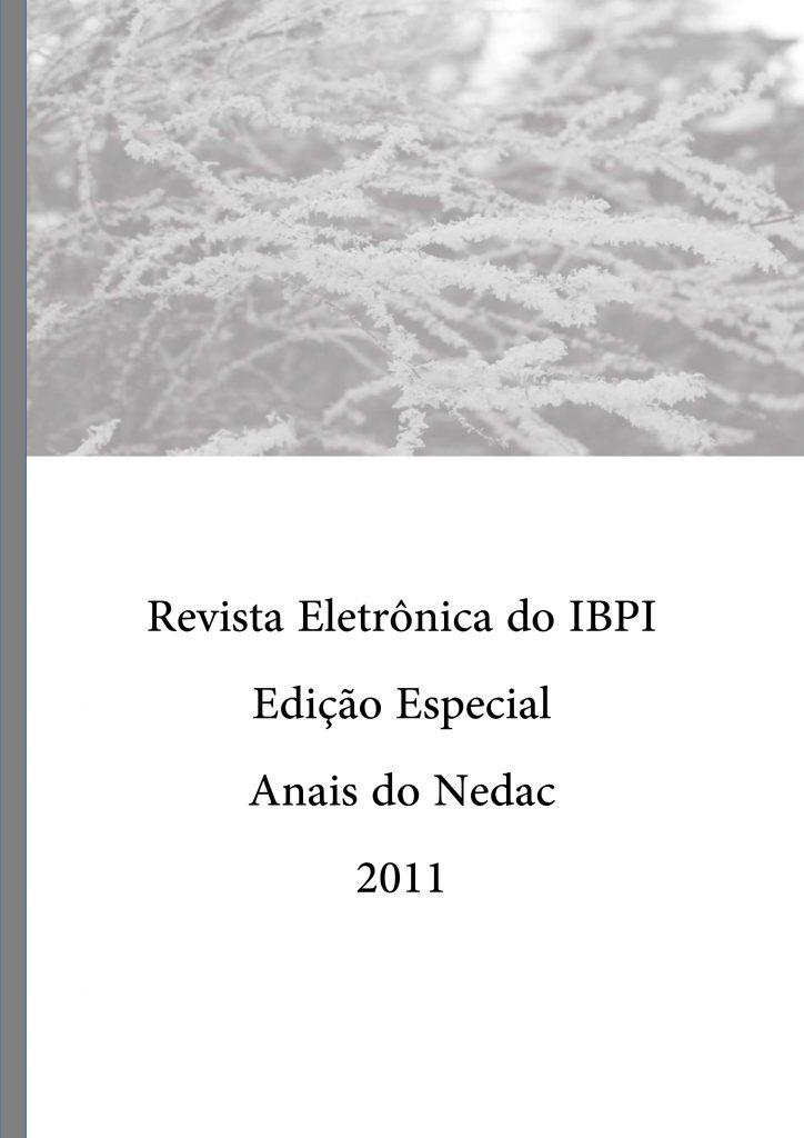 Revista Eletrônica do IBPI - Anais do Nedac